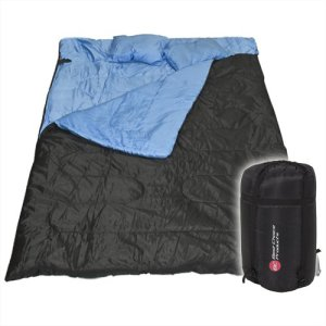 Huge Double Sleeping Bag with Pillows
